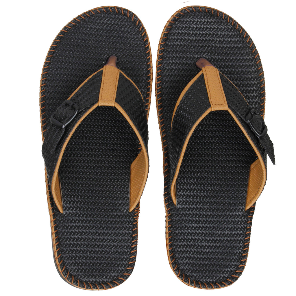 Kraasa 5144 BlackCream Slippers