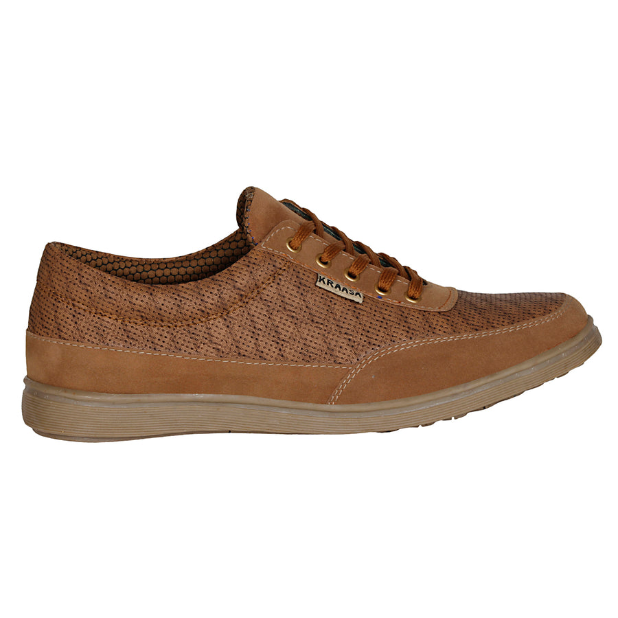 Kraasa 4020 Tan Sneakers