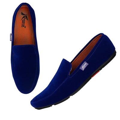 Kraasa 4010 Blue Loafers