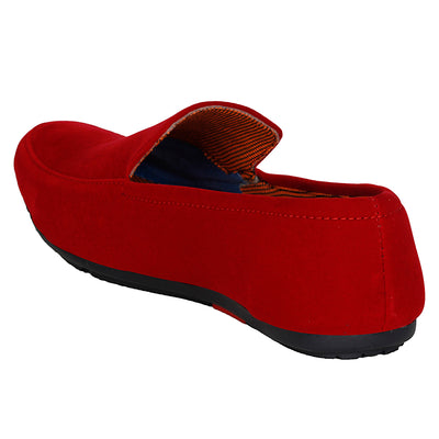 Kraasa 4010 Red Loafers
