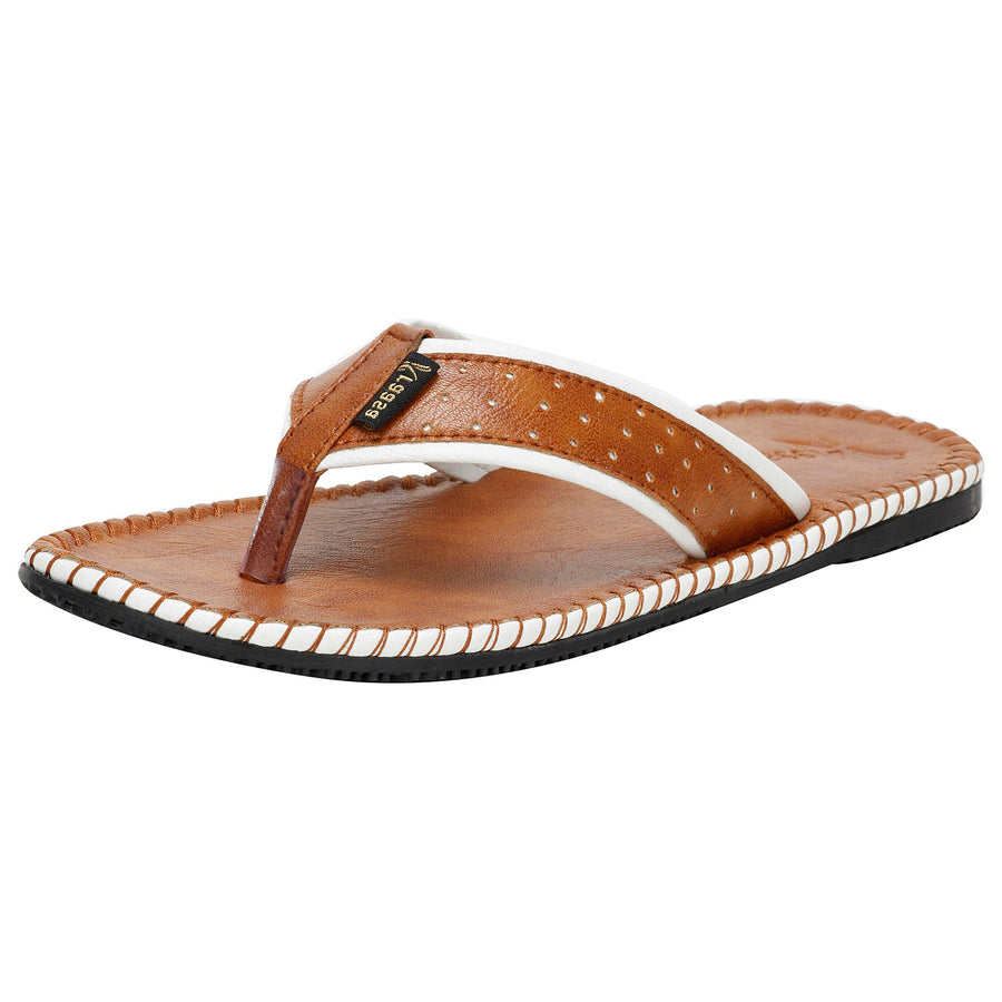 Kraasa 414 Tan Slipper