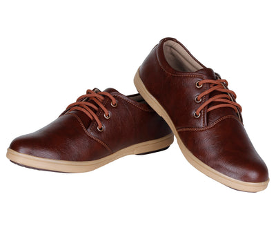 Kraasa 940 Brown Corporate Casuals
