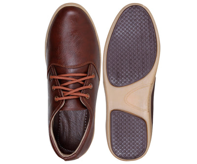 Kraasa 940 Brown Corporate Casuals - TheKraasa