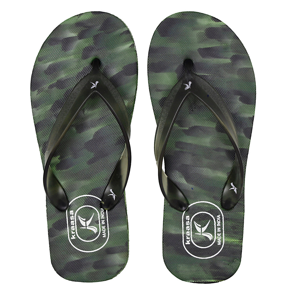 Kraasa 5109 Green Slippers