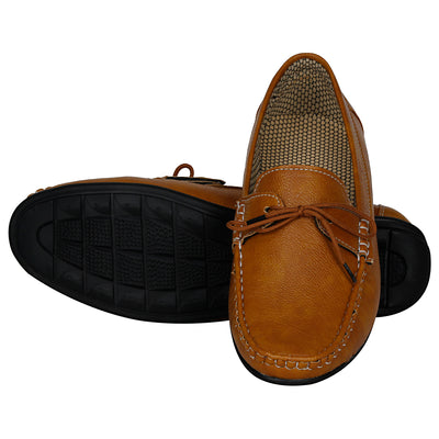 Kraasa 4044 Tan Loafers
