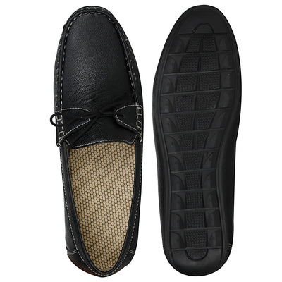 Kraasa 4044 Black Loafers