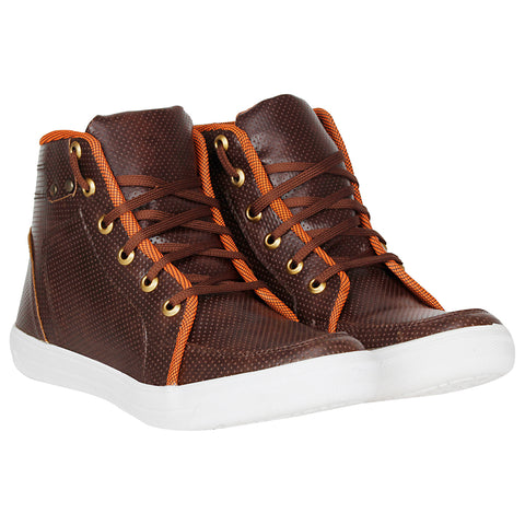 Kraasa 4045 Brown Sneakers