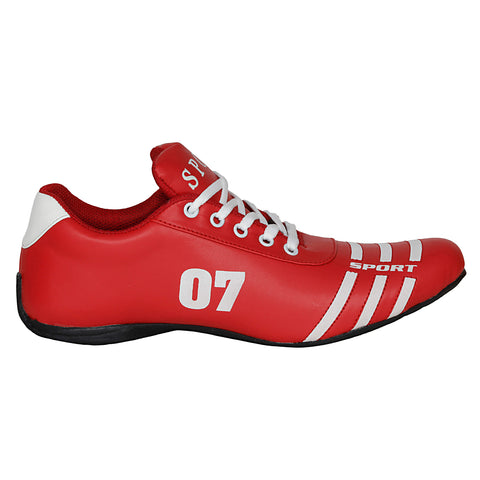 Kraasa 7018 RedWhite Sports Shoes
