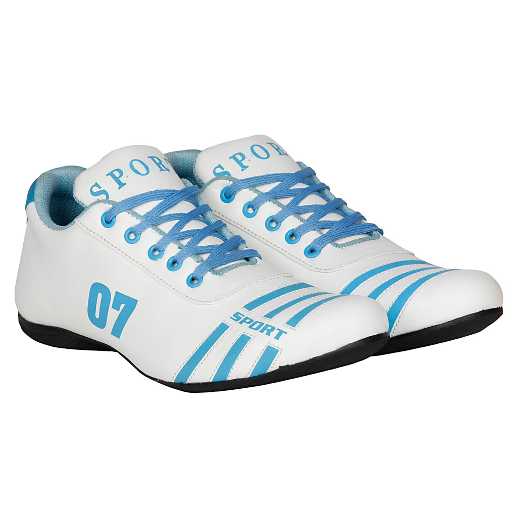 Kraasa 7018 WhiteSky Sports Shoes