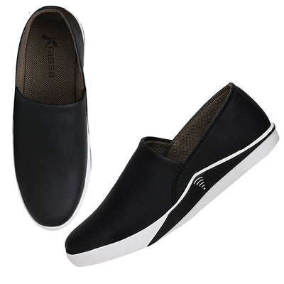 Kraasa 4092 Black Loafers
