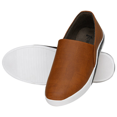 Kraasa 4092 Tan Loafers
