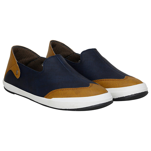 Kraasa 4093 Navy Loafers