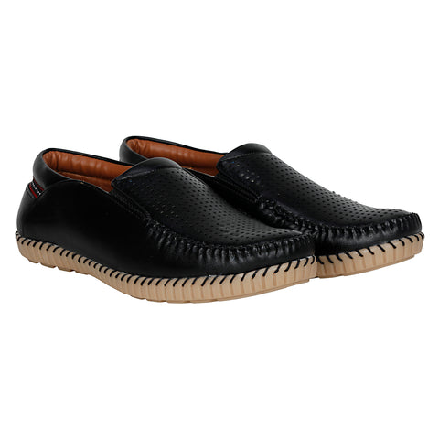Kraasa 4049 Black Loafers