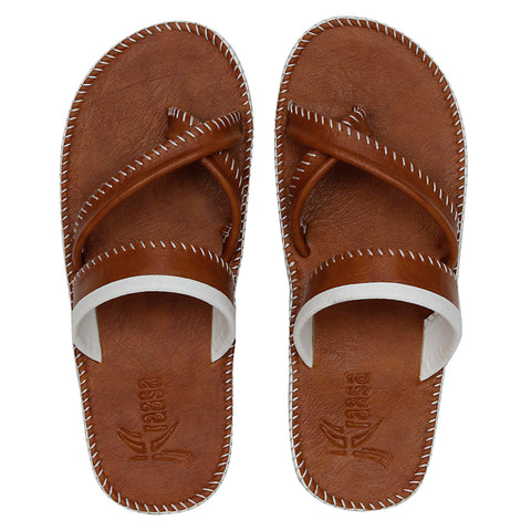 Kraasa 5116 Tan Slipper