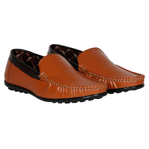 Kraasa 4012 Tan Loafers