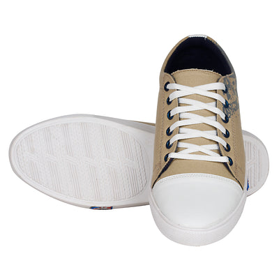 Kraasa 4013 Beige Canvas Shoes