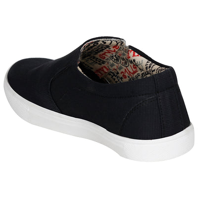 Kraasa 4100 Black Canvas Shoes