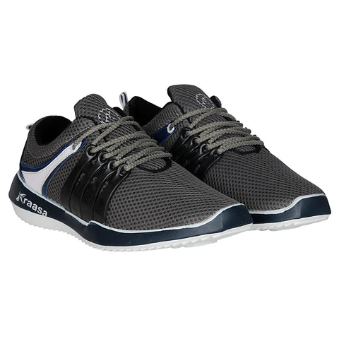 Kraasa 7022 DarkGrey Sports Shoes