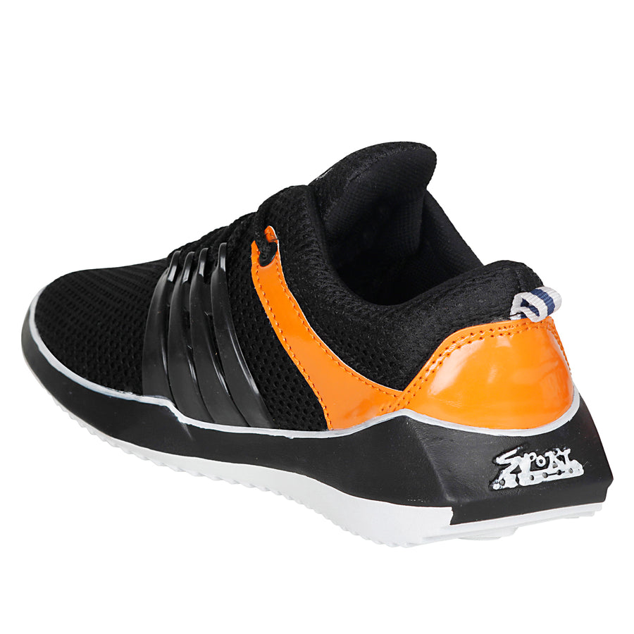 Kraasa 7022 Black Sports Shoes