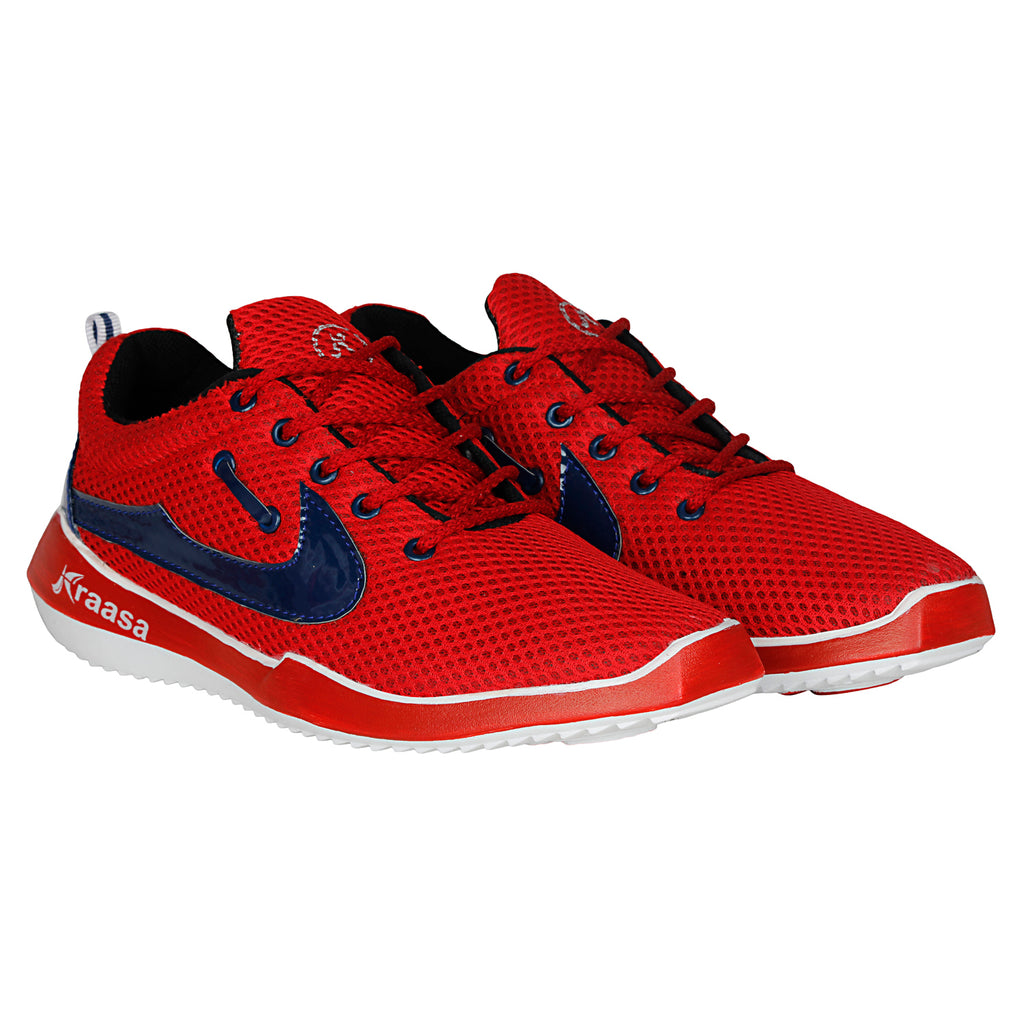 Kraasa 7023 Red Sports Shoes
