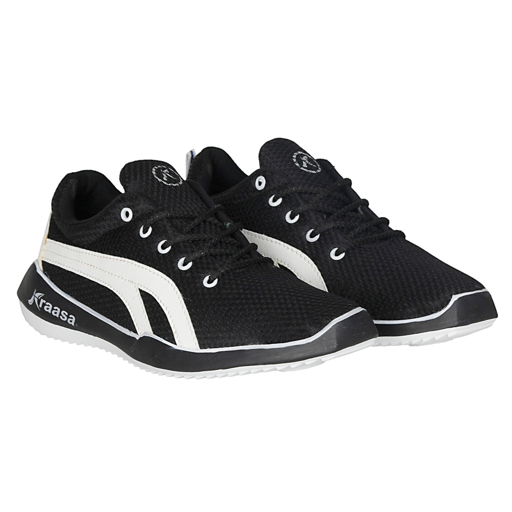 Kraasa 7024 Black Sports Shoes