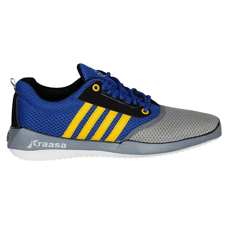 Kraasa 7025 GreyBlue Sports Shoes
