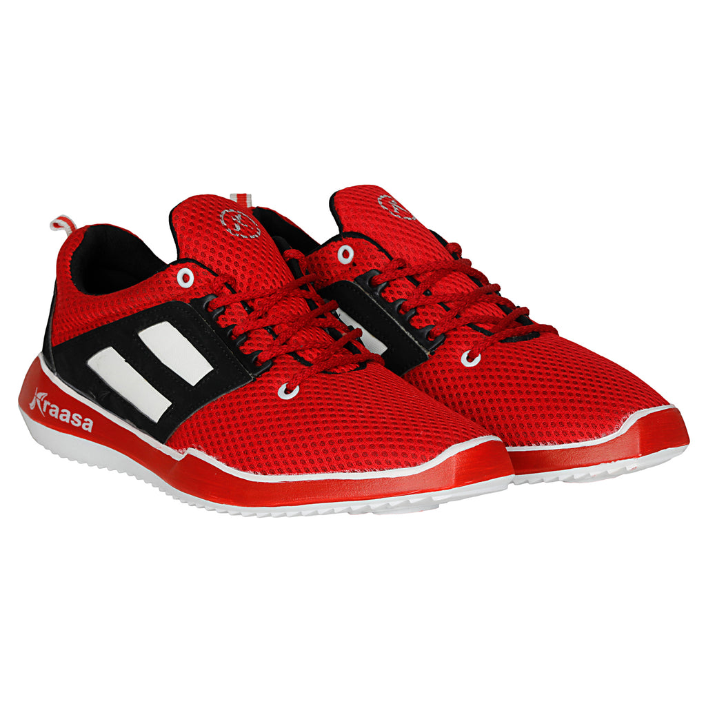 Kraasa 7026 Red Sports Shoes