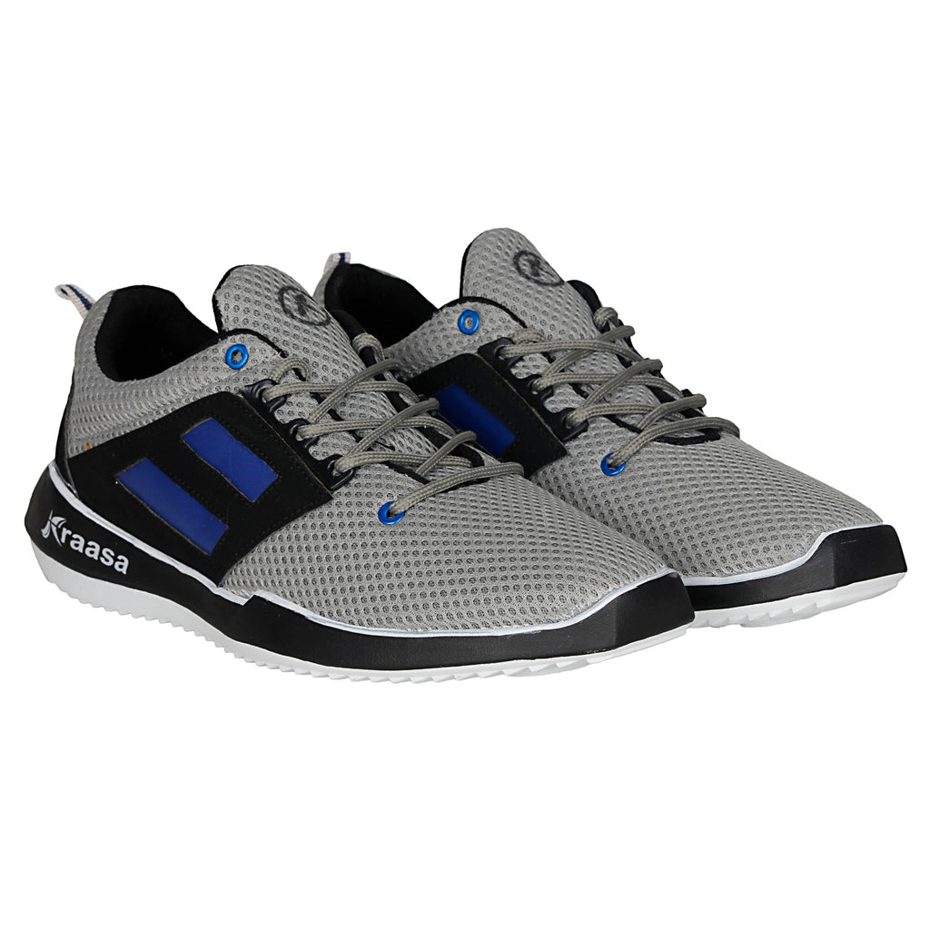 Kraasa 7026 Grey Sports Shoes