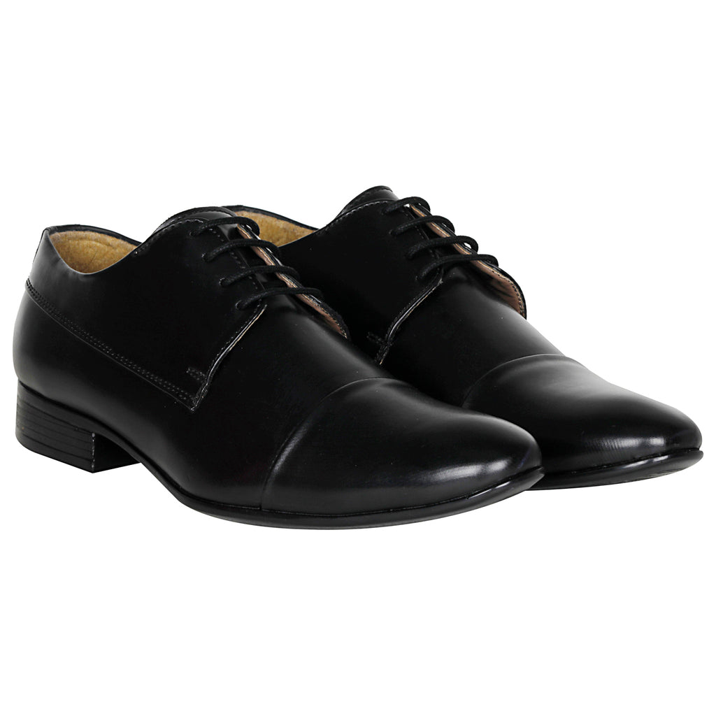Kraasa 1041 Black Formal Shoes