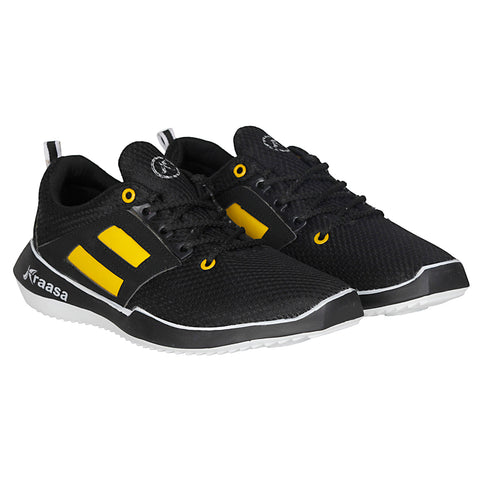 Kraasa 7026 Black Sports Shoes