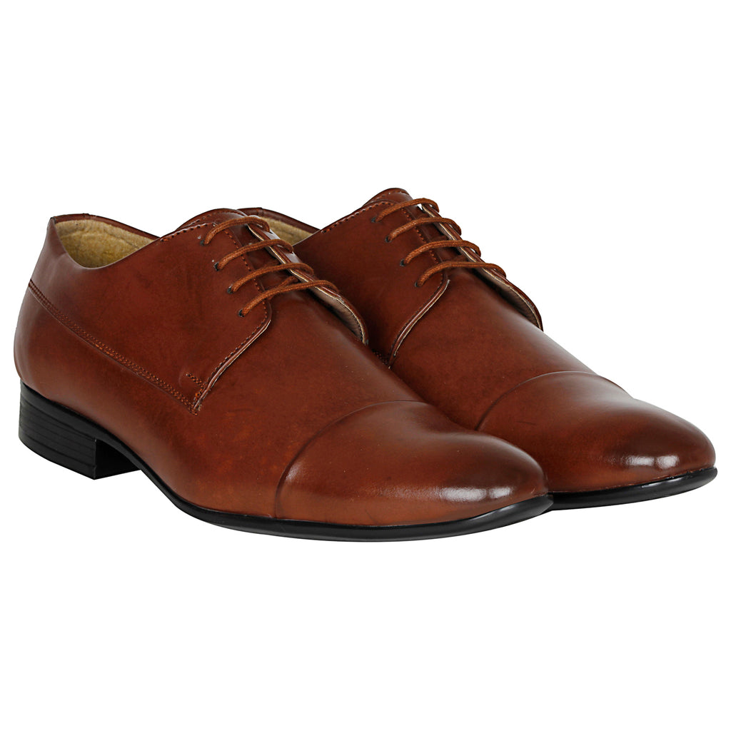 Kraasa 1041-Brown Formal Shoes