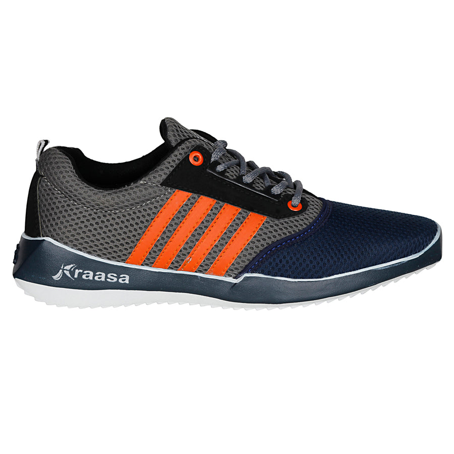 Kraasa 7025 NavyGrey Sports Shoes