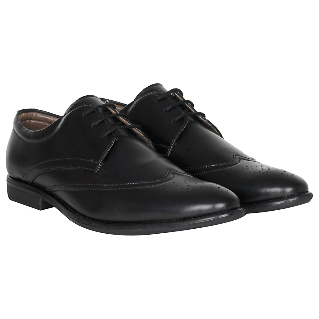 Kraasa 1042 Black Formal Shoes