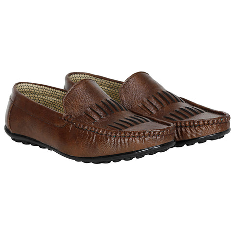 Kraasa 4058 Brown Loafers