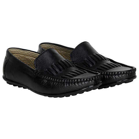Kraasa 4058 Black Loafers
