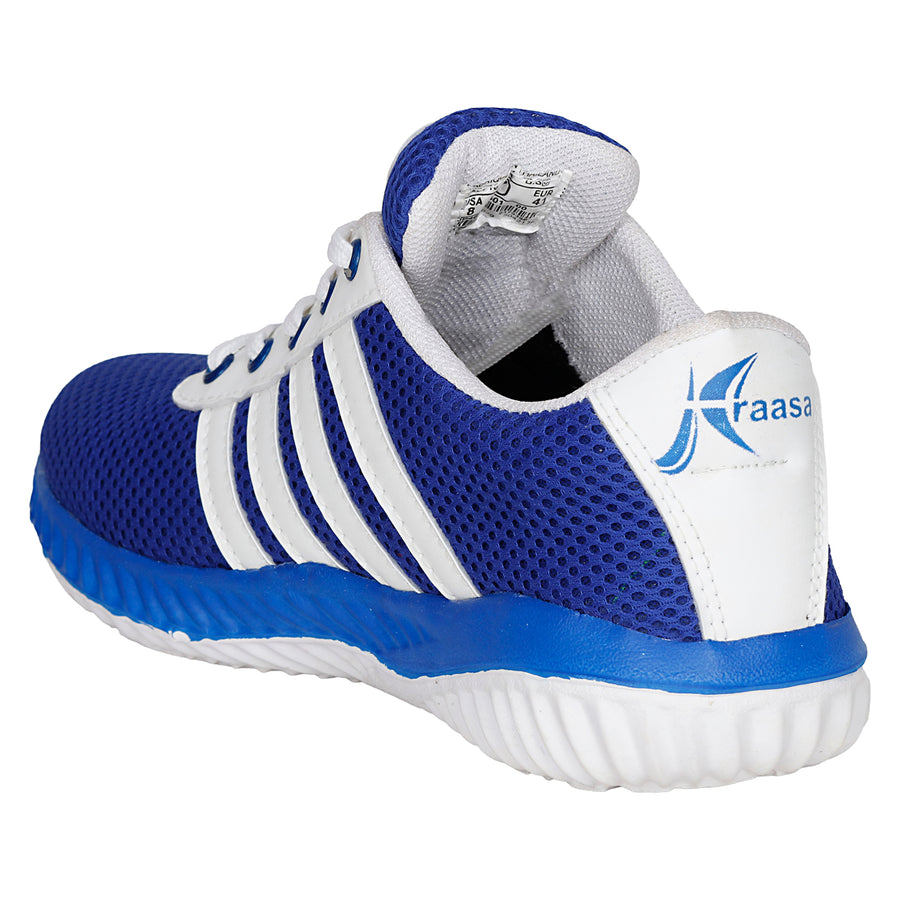 Kraasa 7036 BlueWhite  Sports Shoes
