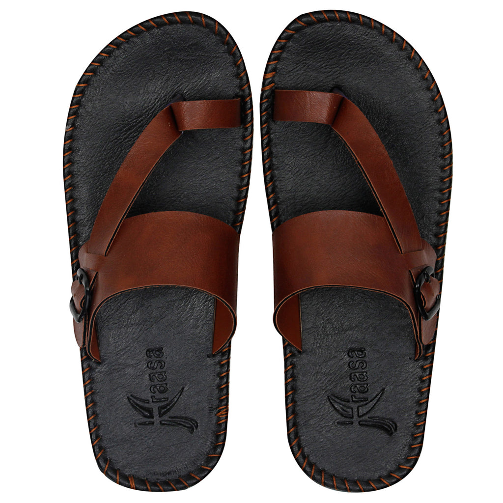 Kraasa 432 Tan Slipper