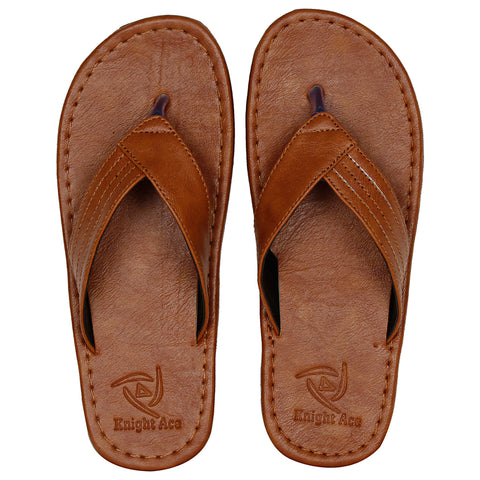 Kraasa 824 Tan Slipper