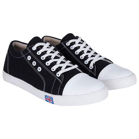 Kraasa 107  Black Casual Sneakers for Men