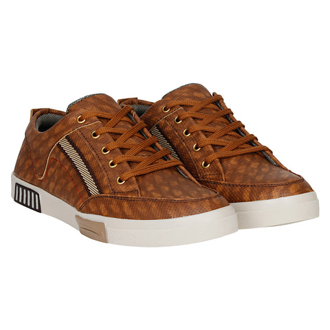 Kraasa 4019 Tan Sneakers