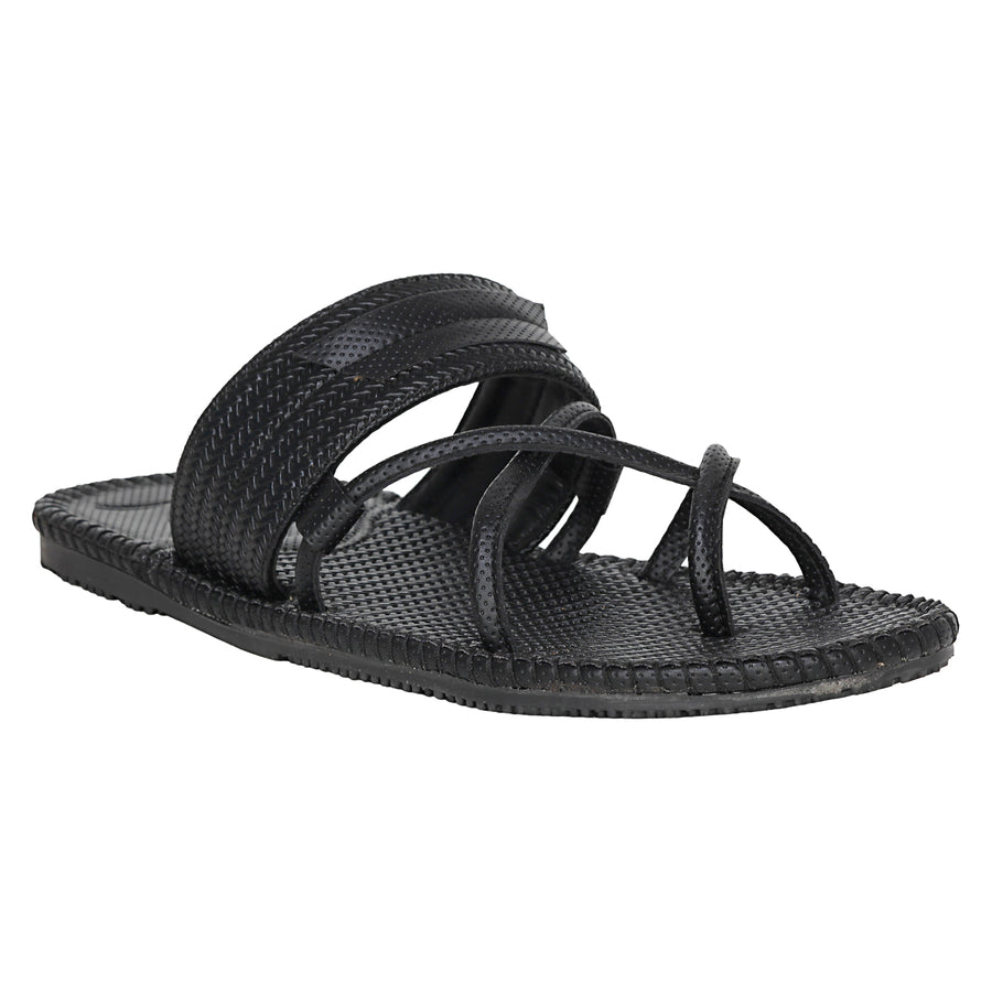 Kraasa 5131 Black Slippers