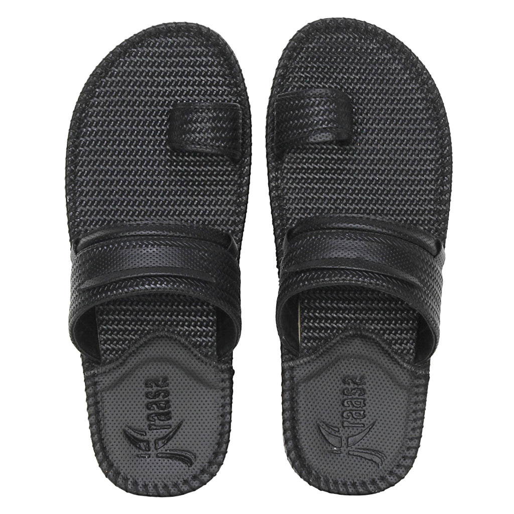 Kraasa 5129 Black Slippers