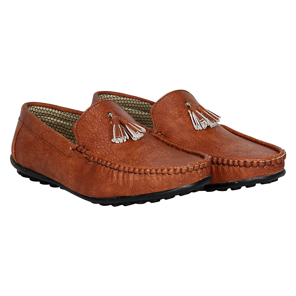 Kraasa 4065 Tan Loafers