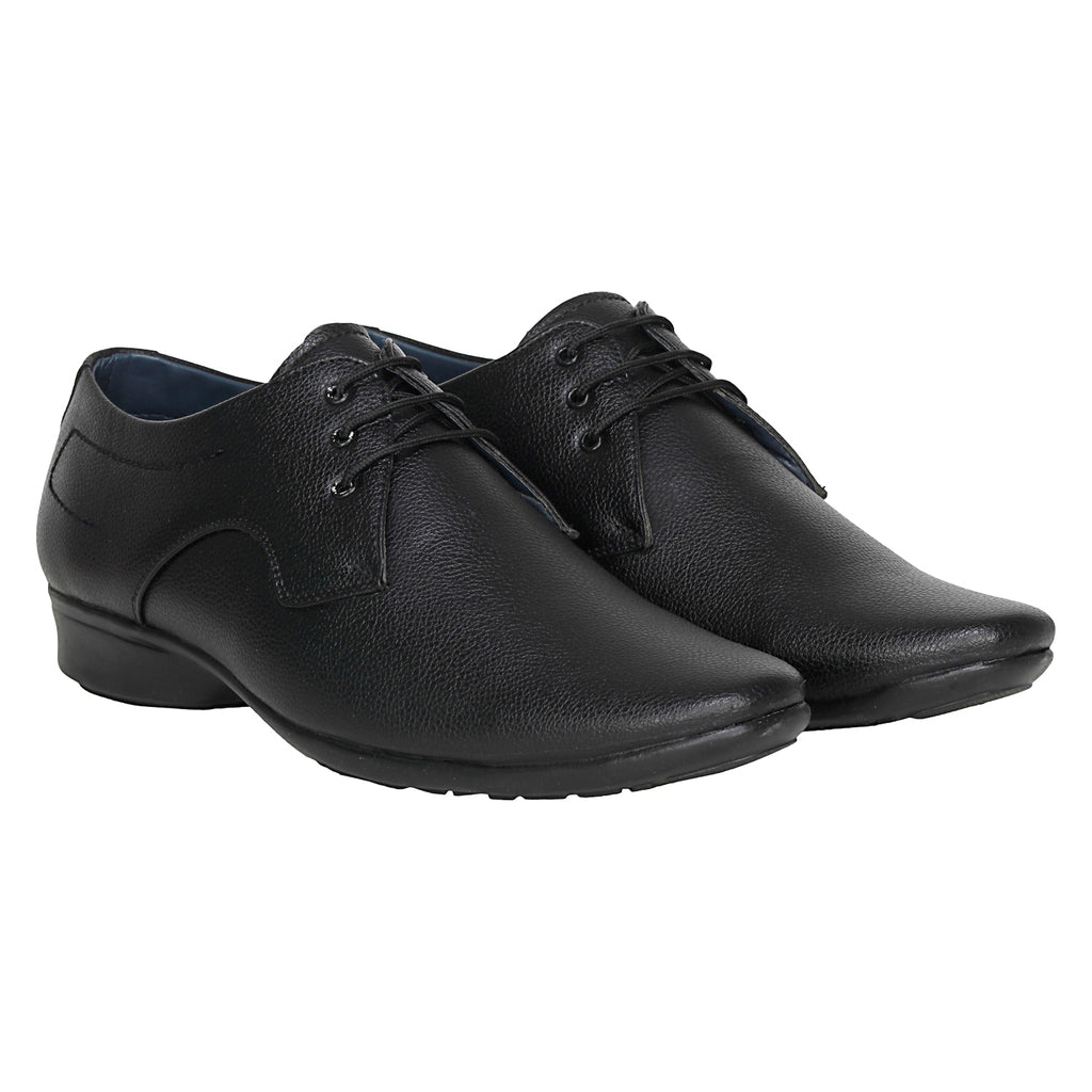 Kraasa 1043 Black Formal Shoes