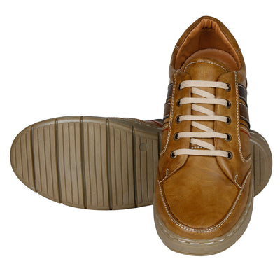 Kraasa 4107 Tan Sneakers