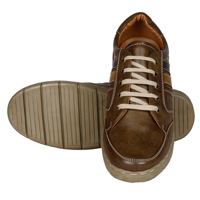 Kraasa 4107 Brown Sneakers