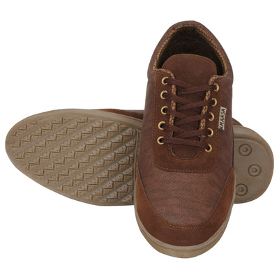 Kraasa 4020 Brown Sneakers