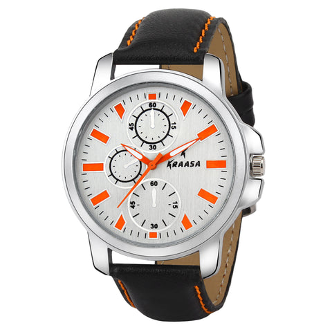 Kraasa W2012 Time Teacher Watch  - For Men ()