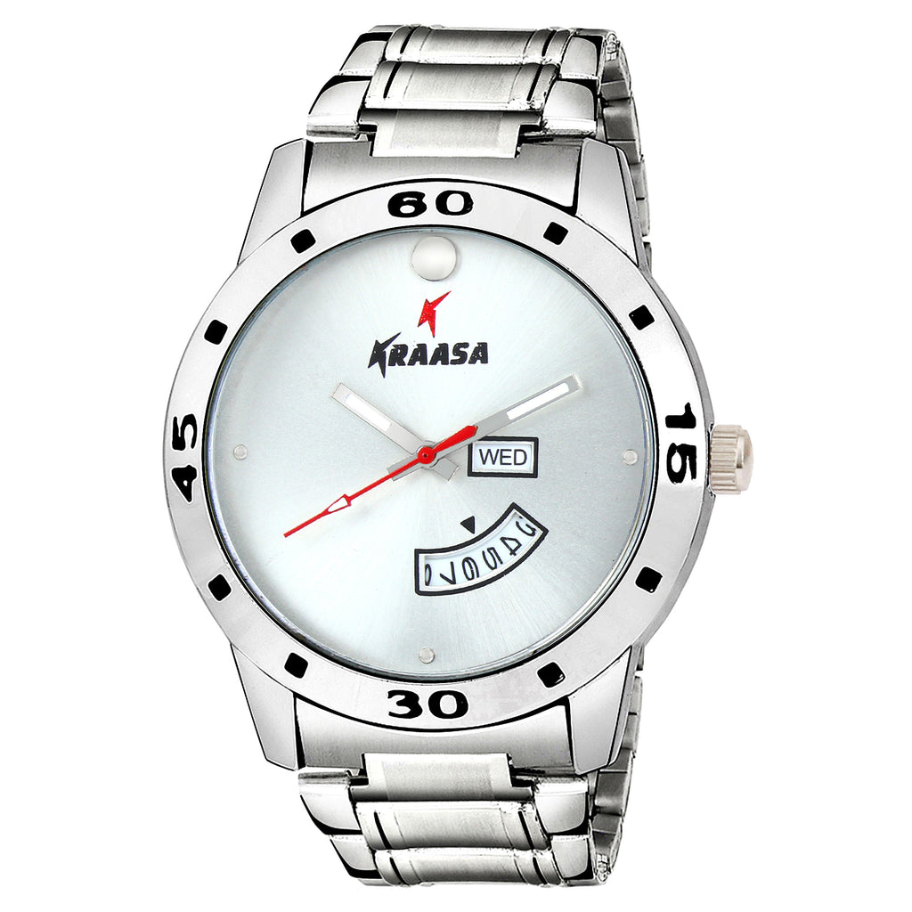 Kraasa KW2005 Day and Date Series Watch  - For Men ()