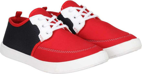 Shoe Daddy Sneakers For Men (Red)